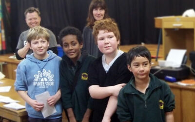 South End winners at the Carterton School chess tournament
