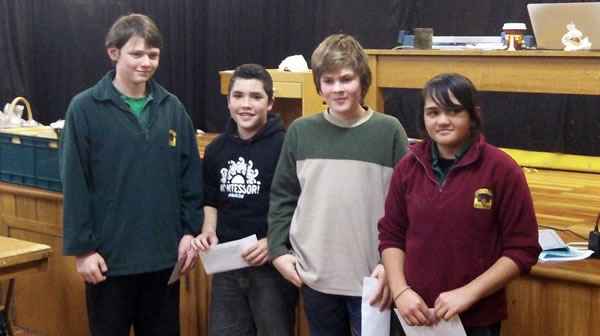 South End Chess Senior Winners - The Master Chiefs
