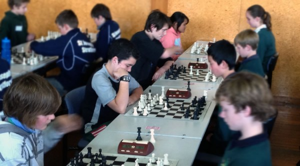 South End Intermediate on their way to 5th place at the 2012 chess nationals!