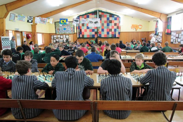 South End School at Carterton Chess Tournament 2013