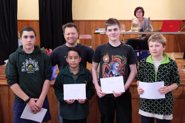 South End School - Carterton Chess Tournament 2013 - Intermediate Champsl