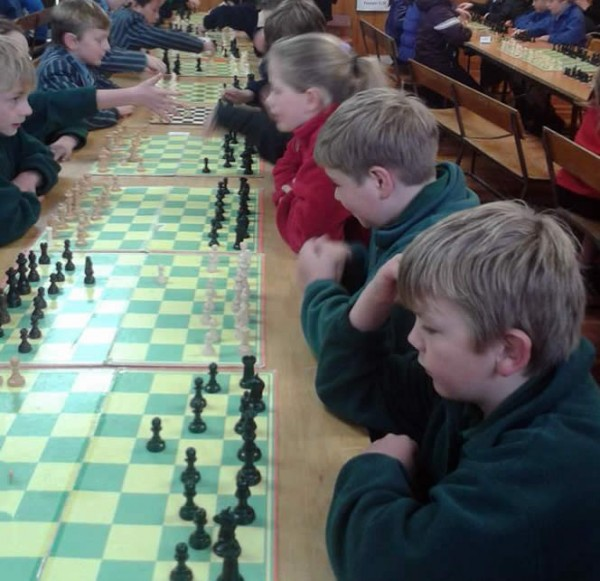 Connor - Carterton Chess Tournament 2014