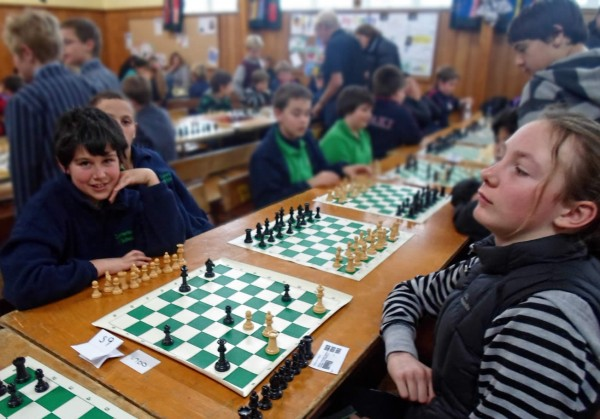 South End - Take Note Chess Tournament at Carterton School