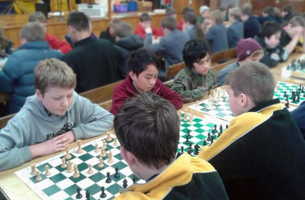 South End Master Chiefs - Carterton Chess Tournament 2014