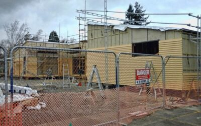 Construction of new classrooms continues