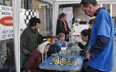 Chess fundraising