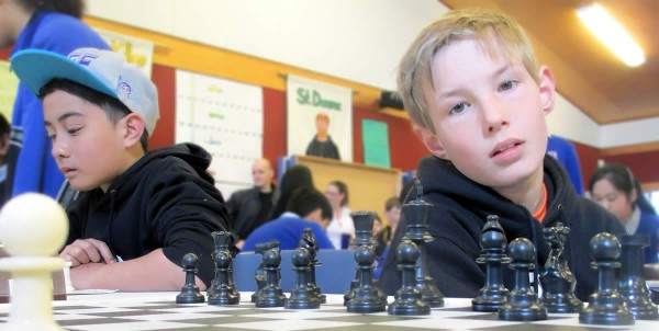 Chess Nationals 2014 - Joey and Neo
