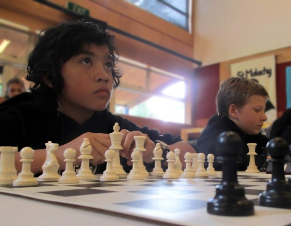 Chess Nationals 2014 - Joji and Sam