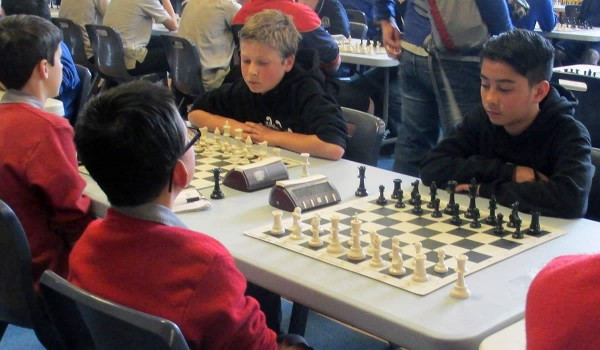 Chess Nationals 2014 - Sam & Joey