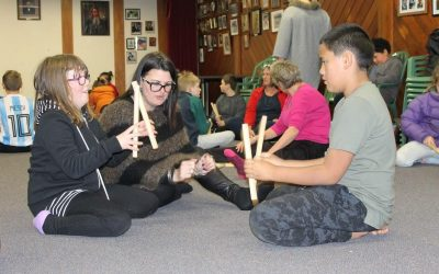 Noho for senior students at Papawai Marae